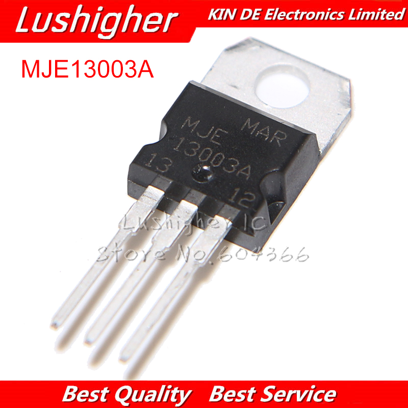 10PCS MJE13003A TO-220 MJE13003 13003A TO220 13003 New Original