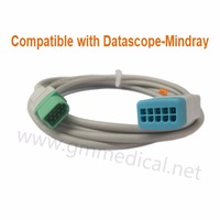 Compatible with Datascope Mindray 5 Lead Leadwires Patient Monitor ECG Trunk Cable OEM P/N 001200174501 Rectangular 12pin