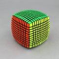 Yuxin 11 camadas 11 X 11 X 11 cubo de velocidade cubo mágico quebra-cabeça de brinquedo 117 mm