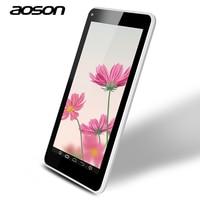 Multi Languages Tablet PC 7 Inch Brand Aoson M751S Quad Core Allwinner A33 512M 8G Dual