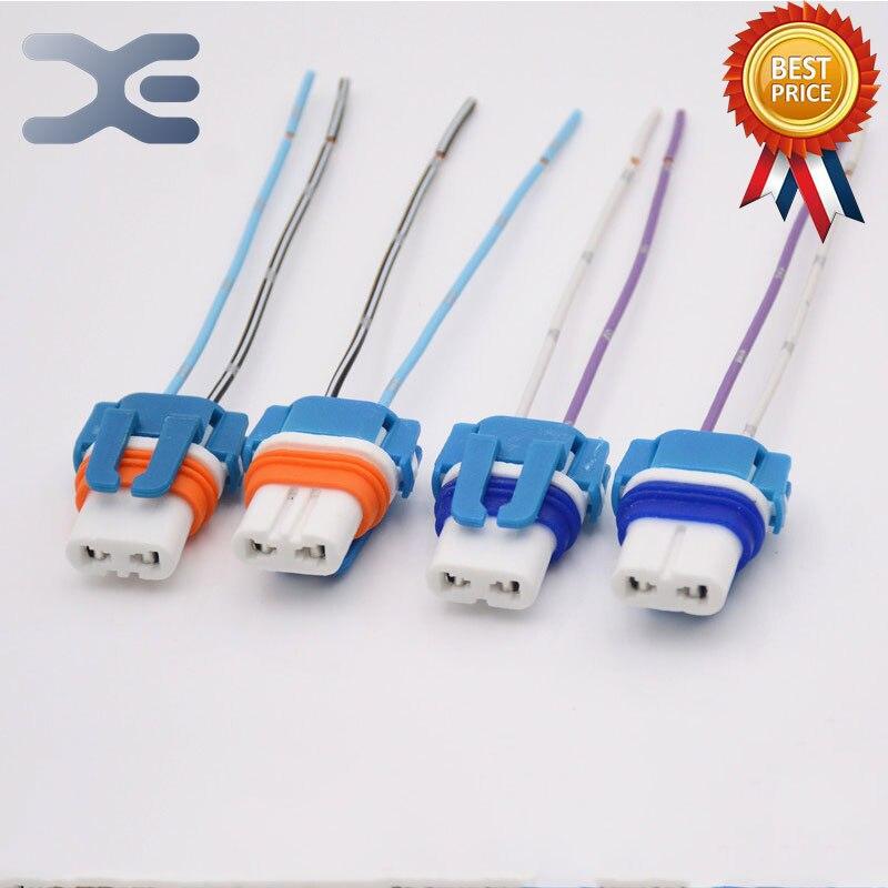 1Pcs Ceramic 9005/9006 Socket Car Headlights High Temperature Resistance HB3/HB4 Socket