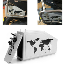 For BMW F 800 GS F700GS F800 F800GS 800GS 2013-2017 All New Tool Box Decorative Aluminum Toolbox side bracket 5 Liters