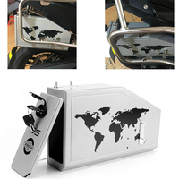 For BMW F 800 GS F700GS F800 GS F800GS F 800GS 2013 2017 All New Tool Box Decorative Aluminum Box Toolbox side bracket 5 Liters
