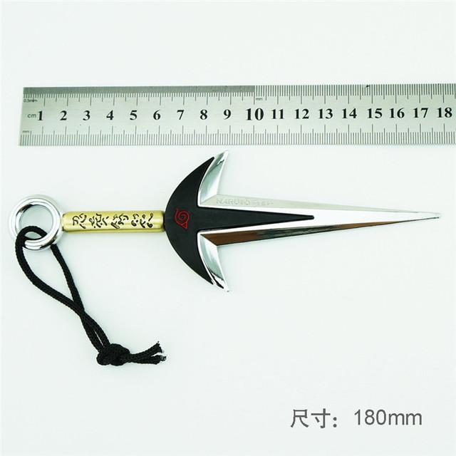 NEW Naruto Fourth Hokage Namikaze Minato Kunai With Leather Case