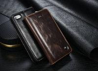 Phone Case For Apple IPhone 5 5S SE Luxury Original Brand Genuine Leather Magnetic Auto Flip