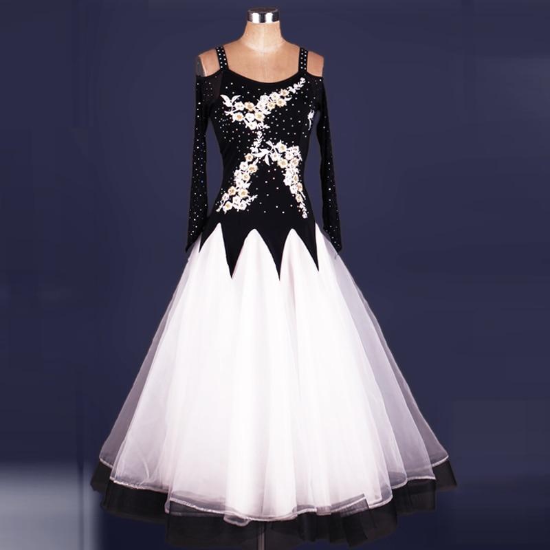 61f9a749be51 2018 advanced новый стандарт Бальные платья для бальных танцев конкуренции  платья Бальные танцы костюм Danse