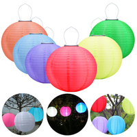 30CM Lantern Solar Lamp Outdoor Lighting Fairy Globe Christmas Decorative Light For Party Holiday Garden Home