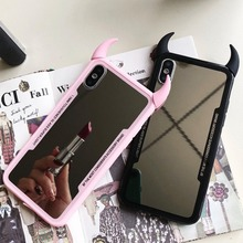 Luxury Mirror Case For OPPO F9 F7 F5/A73
