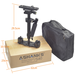 Image 5 - ASHANKS S40 40CM Handheld Steadycam Estabilizador Para DSLR Câmera de Vídeo Steadicam Canon Nikon GoPro AEE LY08