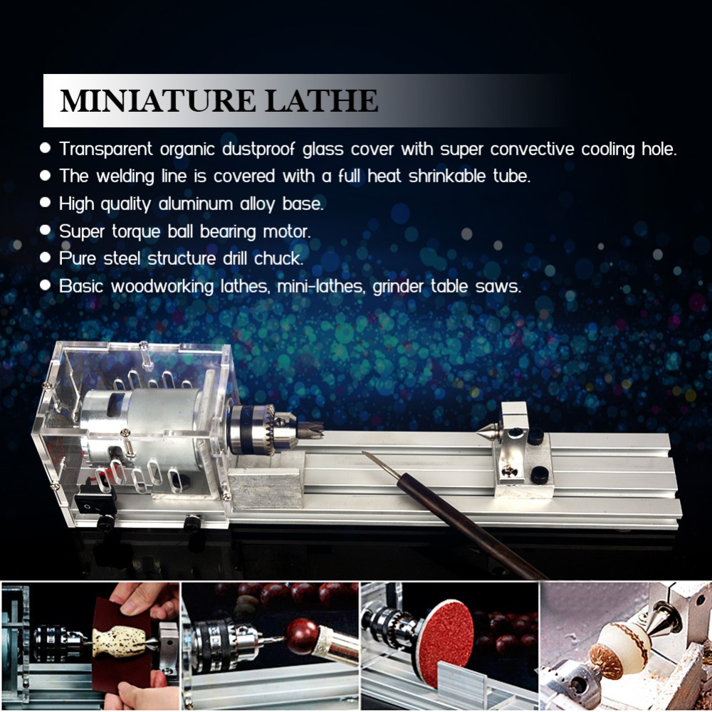 Mini Beading Machine Mini Fai-da-Te tornio in Miniatura Buddha Pearl Basic Edition