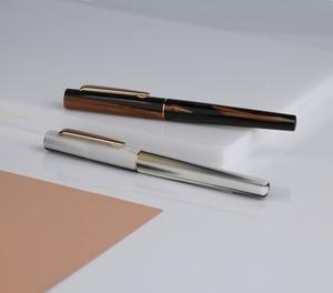 Image 3 - Перьевая ручка Moonman N3 Celluloid, акриловая ручка с красивыми полосками, перьевая ручка Iridium EF/F, Отличная офисная ручка для письма, подарочная ручка с чернилами