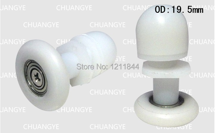 nylon roller Sliding door roller runners wheels plane pulley Shower room eccentric wheels Door roller series pulley in Shower Doors from Home Improvement