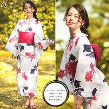 Jepang Wanita Mandi Kimono
