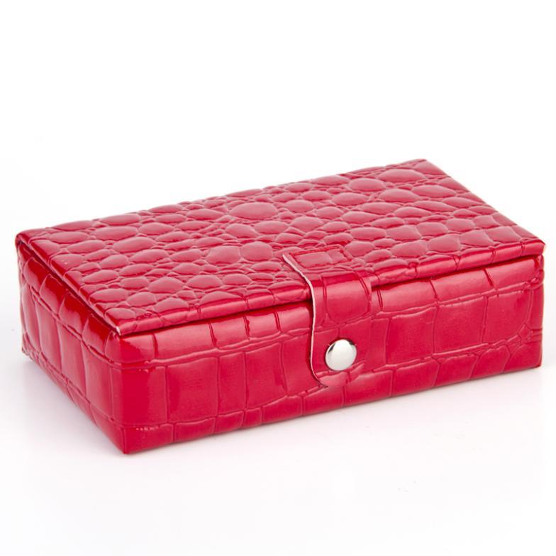 Rg Custom Professional 3 Tier Beauty Make Up Nail Tech Cosmetic Box Vanity Train Case