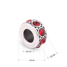 Crystal Spacer Charms Original Basic Beads Fit Pandora