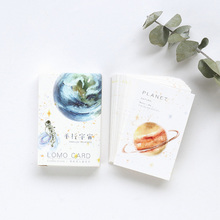 цена на 28 pcs/lot creative cute Parallel universe Card Postcard Birthday greeting card Letter Envelope Gift Card Set Message Card