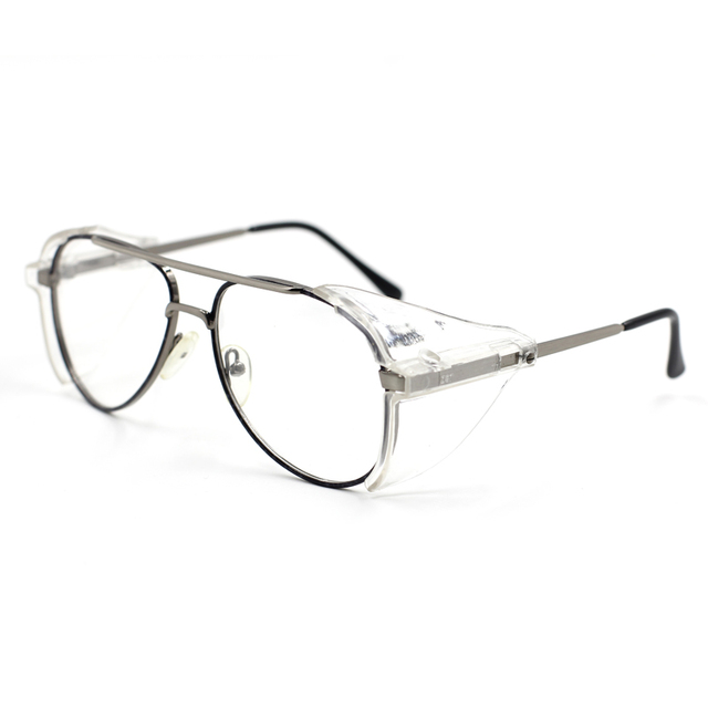 843ce4955 Laura Fairy Big Frame Design Safety Glasses Brand Designer Pilot Style Safety  Glasses Frame for Special