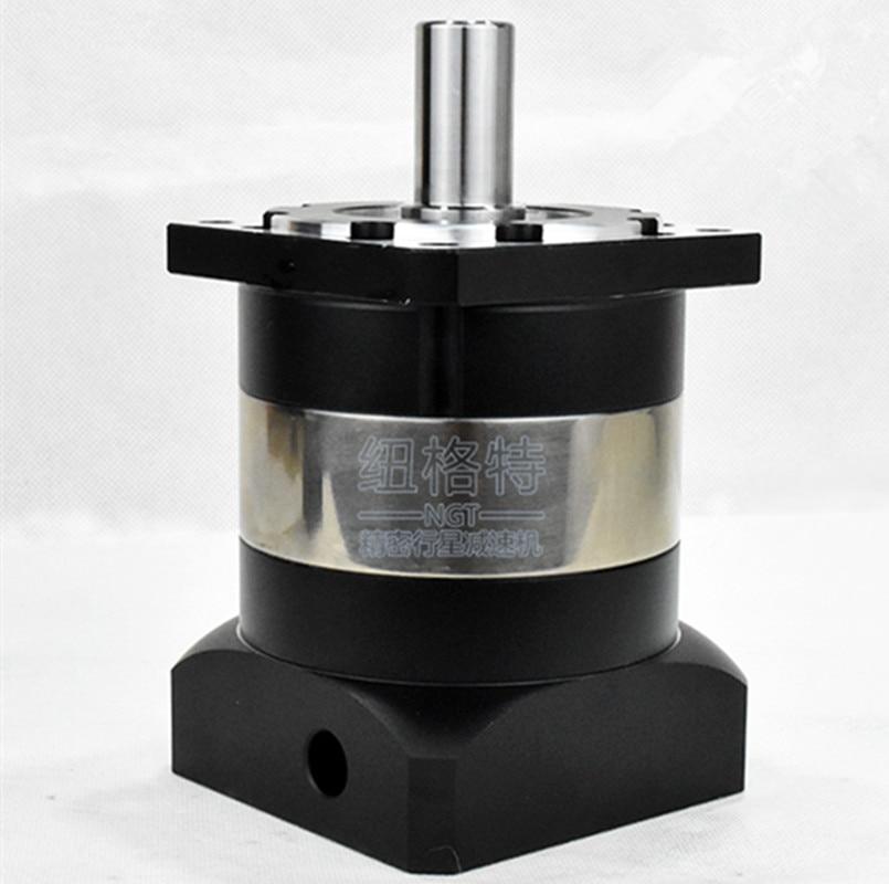 PLF90-L1 planetary gearbox reducer ratio 3:1 4:1 5:1 7:1 10:1 for NEMA34 stepper motor shaft 14mm nema23 planetary reducer stepper motor ratio1 50 4 2a 3nm 429oz in l 112mm marking machine