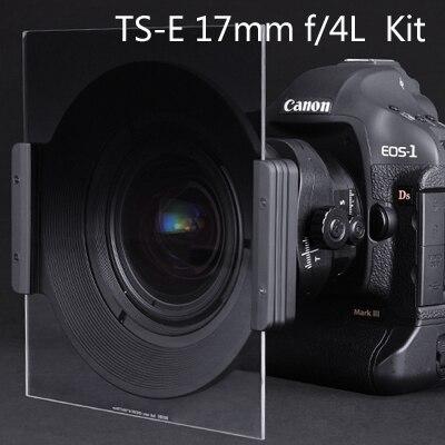 Nisi carré porte filtre 150mm Kit pour TS-E 17mm f/4L titulaire + ND1000 filtre + doux nano GND (8) 0.9 + 150mm CPL