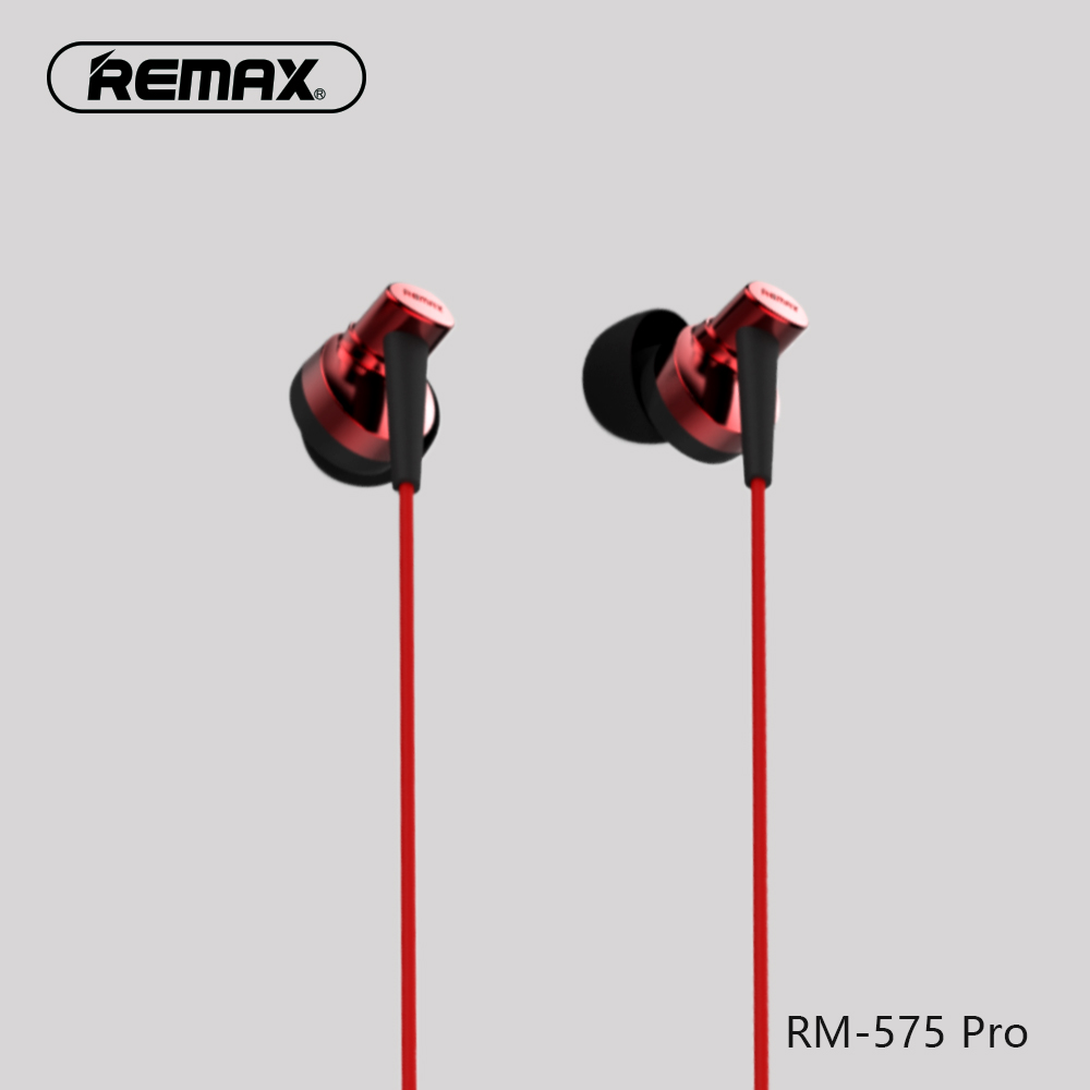 Remax HD Earphone with Mic Remote HiFi Stereo Sound Music Earbud Headsetfor Xiaomi Redmi Red Mi Mobile Phone ...