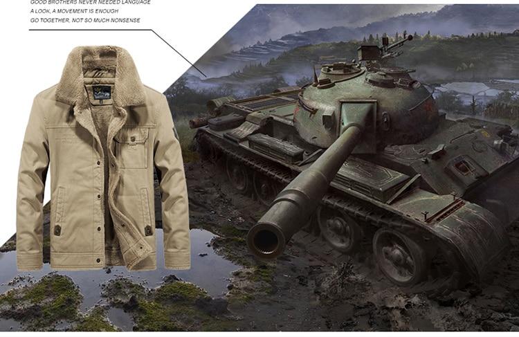 HTB1MQysa.D1gK0jSZFGq6zd3FXau FGKKS Winter Men Jacket Men's Fashion Fleece Fur Collar Jackets Male Tactical Mens Warm Jackets Coats