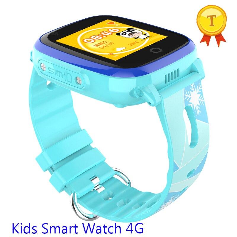 GPS WIFI Children russian language kids Smart Watch 4g Real Waterproof Touch HD Screen Kids wristwatch