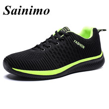 Men Running Shoes Sneakers For Men Comfortable Sport Shoes Men Trend Lightweight Walking Shoes Breathable chaussure homme цена и фото