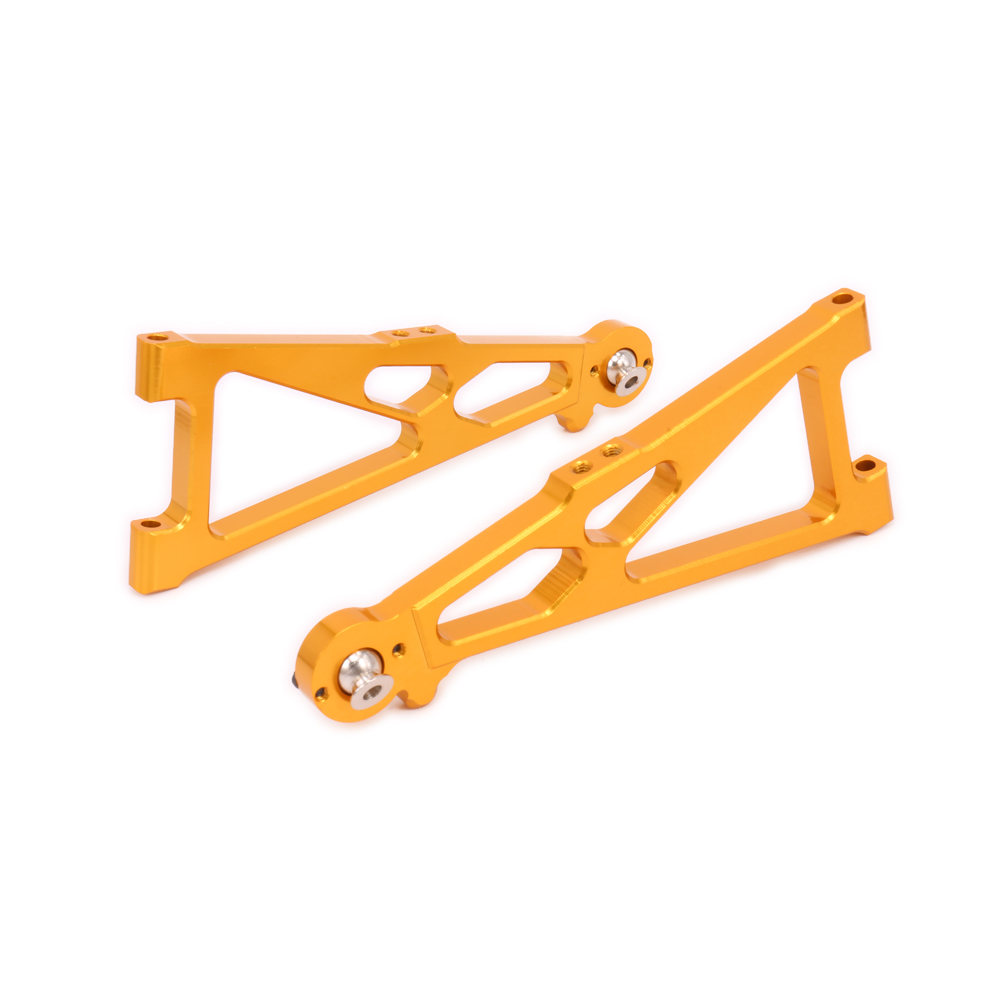 alloy front lower suspension arm for rc hobby model car 1/10 Himoto big foot monster truck E10MTL E10MT E10BP 2pcs rc car 1 10 hsp 06053 rear lower suspension arm 2p for 1 10 4wd rc car hsp 94155 94166 94177