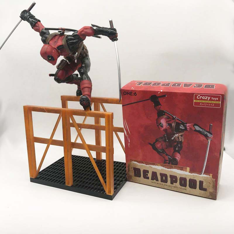 16inch 40cm Crazy Toys Deadpool 2 PVC Action Figure Collectible Model Toy Deadpool Toy