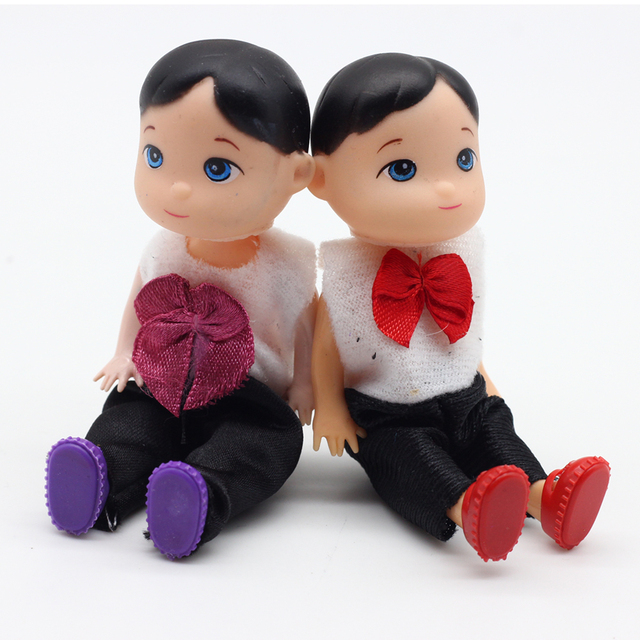 10 cm mode boneka toys untuk barbie bayi laki-laki anak boneka super cute  kecil bb380196b3