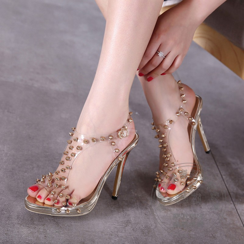 Soft Leather Designer Pu Stiletto Heels For Sale Buckle High Heel Shoes Shoes font b Womans