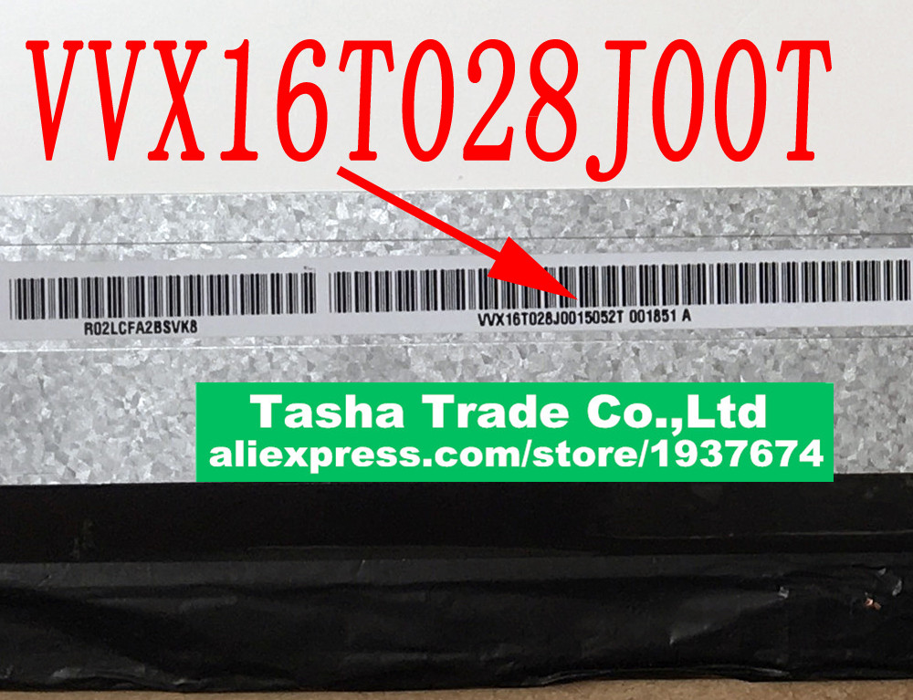 VVX16T028J00 for Sony SVF15N Laptop LCD Screen LED Display Non-touch IPS PN SD10A09771 FRU 04X4064 2880*1620 Matrix Matte laptop silver palmrest for sony svf15n