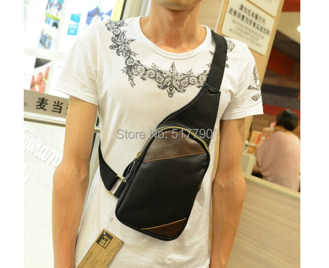 Online Shop Fashion Sling Bag PU Leather Back Pack Outdoor Travel ...