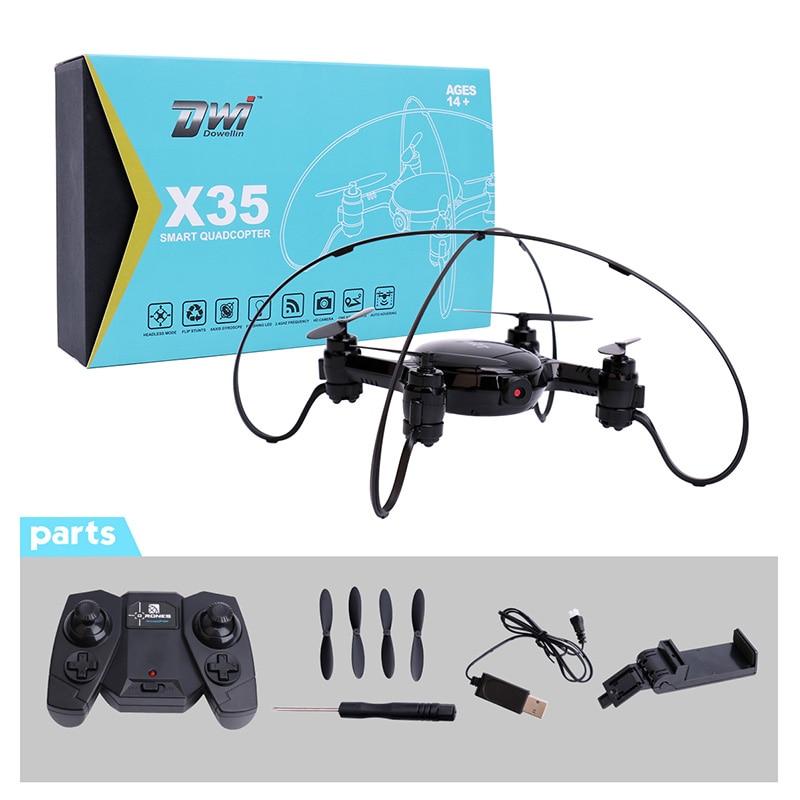 RC Quadcopter Mini Drone with Camera 0.3MP 480P WiFi FPV Drone Dron Selfie Drone Altitude Hold Auto Hover RC Helicopter X35 вертолет на электро радиоуправлении et rc quadcopter with camera drone iphone wifi helicopter dron