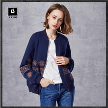 Brand women s jacket 2017 can be children s new exquisite embroidery twill split small collar