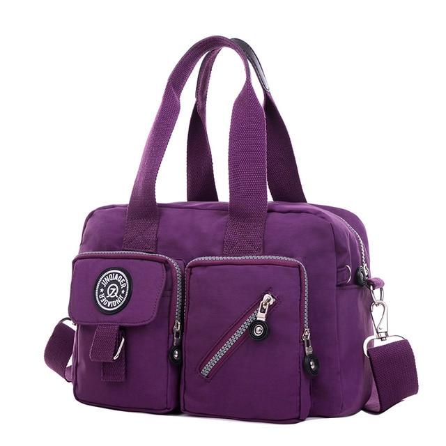 Sacoche bandouillere multipoche - Violet c7NcOHW8