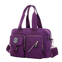 Women S Handbag Fashion Casual Portable Shoulder Bag Light Travel Women Waterproof Nylon Cloth Messenger Bag