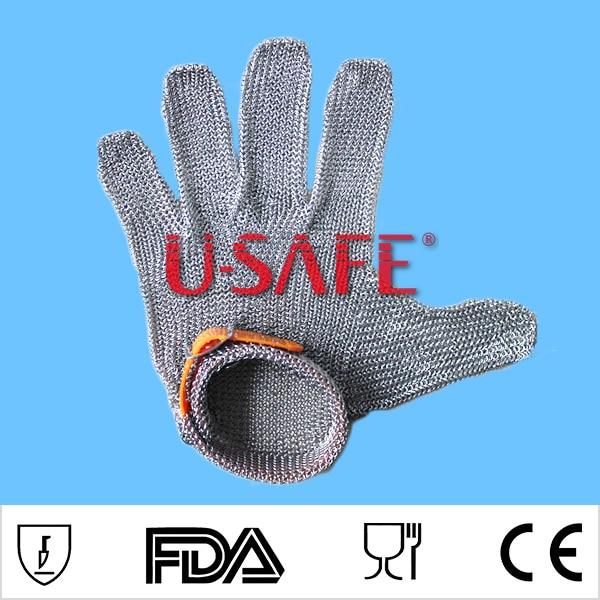 Whitting davis из нержавеющей стали, металлическая сетка, стальная цепь, перчатки для резки мяса, перчатки glvoe EN388 - 3