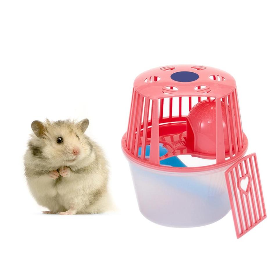 New Mini Hamster Cage Small Pet Single Apartment House Pet Nest Suit Portable Hamster Toy Home Breathable Supplies Cages Aliexpress