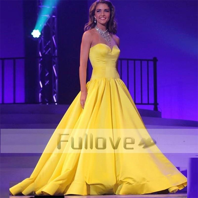 Perfecto Vestidos De Fiesta Amarillo Barato Colección de Imágenes ...