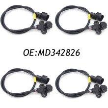 Новый 4 ШТ. MD342826 Датчик Положения Коленчатого Вала Для Mitsubishi L200 Challenger Мираж Л 200 Pajero Shogun 1.5 2.5 J5T25871 ADC47205