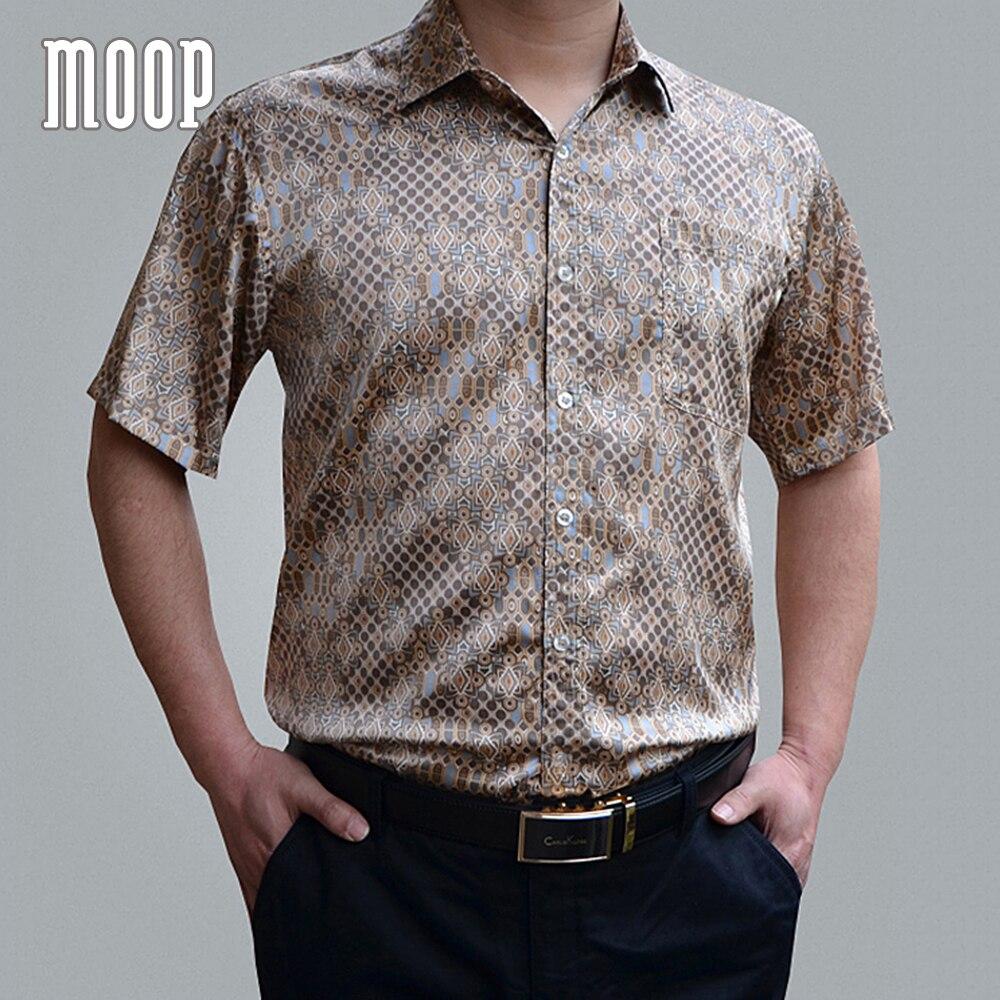 الأمريكية نمط 5 ألوان الرجال الصيف 100% الحرير قمصان رسمية قصيرة الأكمام قميص مطبوع قميص homm camiseta الغمد LT1452-في قمصان كاجوال من ملابس الرجال على  مجموعة 1