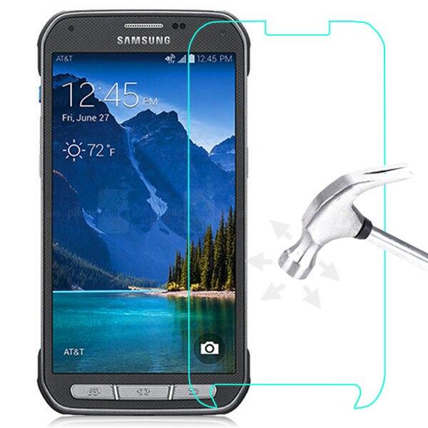 imágenes para 10 UNIDS/LOTE 2.5D LCD a prueba de Explosiones de Cristal Templado de Cine para Samsung Galaxy S5 Activo/G870 LCD Protector de Pantalla