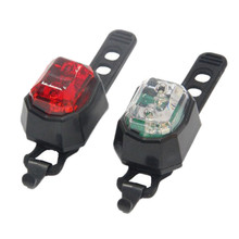 G0 Portable Bicycle Mountain Tail Light 2 Led Taillight Warning Light Brake Lights Accessories Retail&Wholesale Free Shipping