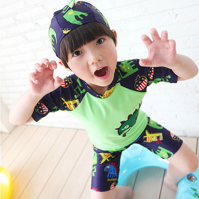 60ab3b9839 placeholder Boys Swimsuit 2-13Y Kids Swimwear Boys Beachwear Sports Bathing  Suit Swimming Trunks for Children