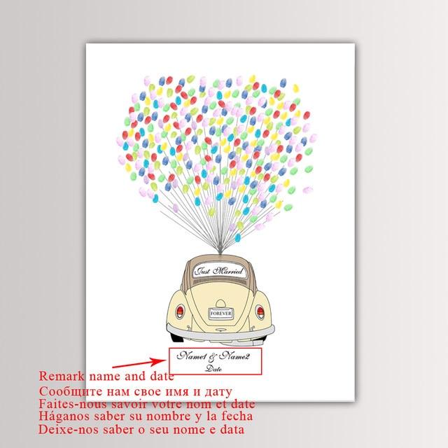 online shop wedding car wedding gift free custom name date diy