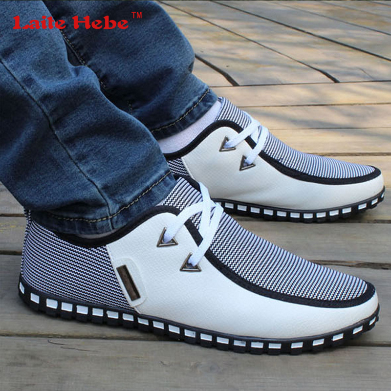 LaiteHebe New Men's Bussiness Flats Men Luxury shoes Oxfords Loafers shoes Men Mens Leather Men Buckle Shoe Formal White Brand cbjsho brand men shoes 2017 new genuine leather moccasins comfortable men loafers luxury men s flats men casual shoes