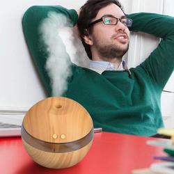 Difusor de aceite esencial de Aroma de aire 2018 humidificador ultrasónico de aromaterapia