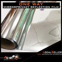 19 x 393irror Insulation Solar Tint Window Film Stickers UV Reflective One Way Car window Privacy Decoration For Glass