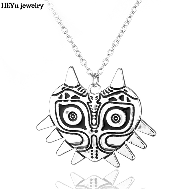 Free Shipping The Legend of Zelda Necklace Majoras Mask Pendant Game Jewelry Accessories Gift Toy